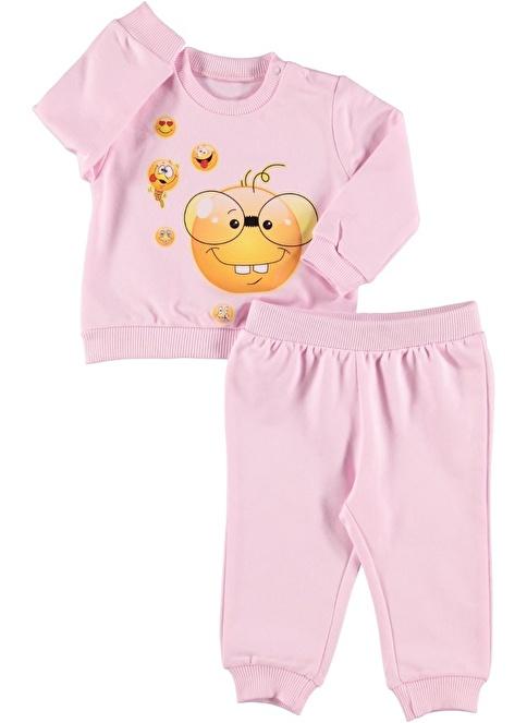 Sly Baby Eşofman Takım Pembe